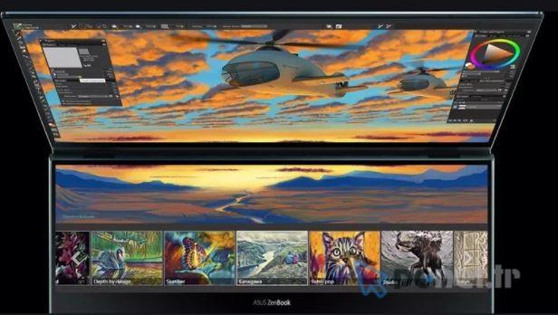 Asus Zenbook Pro Duo Screenpad